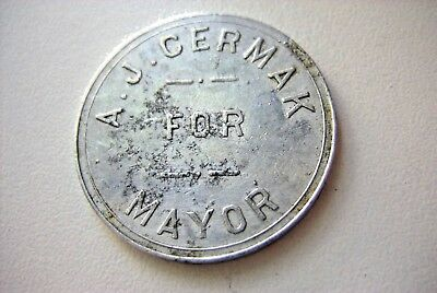'a.  J.  Cermak  For  Mayor'  (Chicago, Il)
