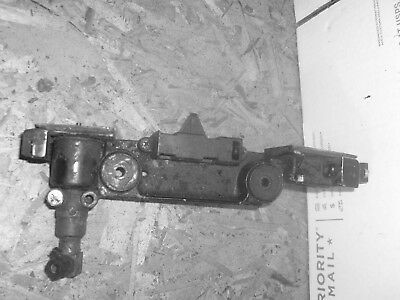 Mercury V6 Front Cowl Mount support 99423 ,fuel connector, & latch