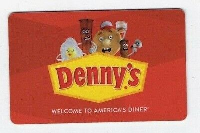 DENNY'S Collectible Gift Card - FOOD Themed - NO $ Cash Value ~ FREE SHIPPING