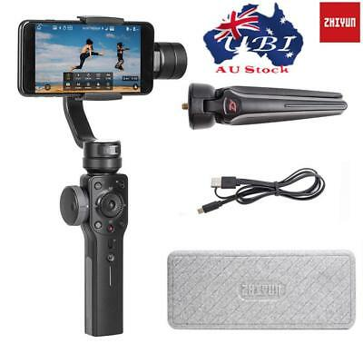 Zhiyun Smooth 4 3-Axis Handheld Gimbal Stabilizer For Smartphone iPhone Black AU