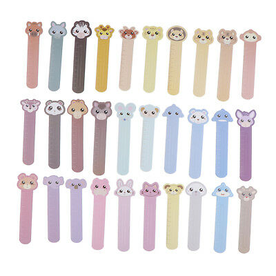 MagiDeal 30pcs Cartoon Animal Paper Bookmarks Stationary Bookmark Accessory