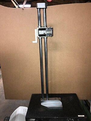 Mitutoyo 0- 24 Inch 600Mm  Digimatic Electronic Height Gage