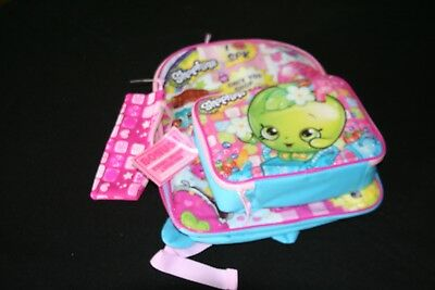 New Shopkins Backpack and Lunch Box Set with Bonus Pencil Case