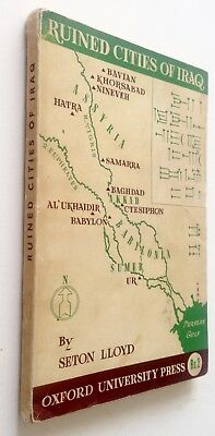 1943_IRAQ 1stEd_RUINED CITIES_GUIDE_Lloyd_British Archaeology_Baghdad_Nineveh