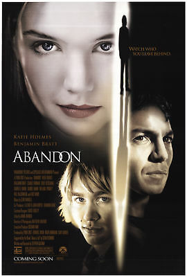 Abandon 2002 27x40 Orig Movie Poster FFF-71610 Rolled Fine, Very Fine