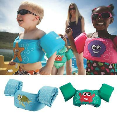 Kids Floaties Swim Trainer Vest Child Buoyancy Clothing Pool Learner Protection