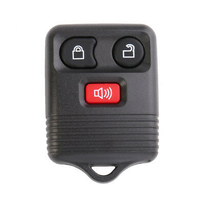 Portable Keyless Entry Replacement Remote Key Fob Shell Case For Ford 3 Button