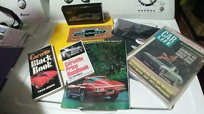 Corvette Books Collectible Lot
