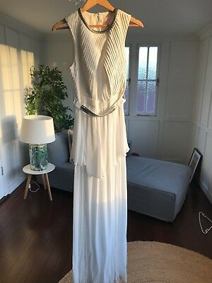 Sass and Bide Grecian Style white/wedding dress