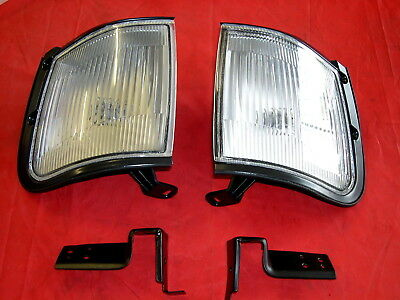 Holden Tf Rodeo  New Pair Of  Front Corner  Park Lamp  Lights  1997 To 2002