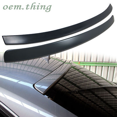 Audi A4 B8 4Dr Rear Roof & Trunk Spoiler Wing Abs 2009-2012