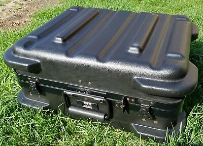JENSEN TOOLS Heavy Duty Industrial Tool Case with 2 inserts