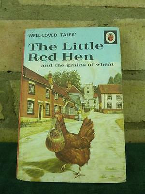Vintage Ladybird book The Little Red Hen Well loved tales price 18p net #2