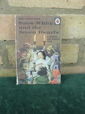 Vintage Ladybird book well loved tales Snow White and the Seven Dwarfs seri 606d