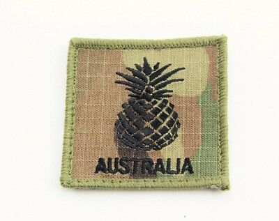 Morale Patch Pineapple Adf Multicam Coyote Velcro® Backed Tbas Army