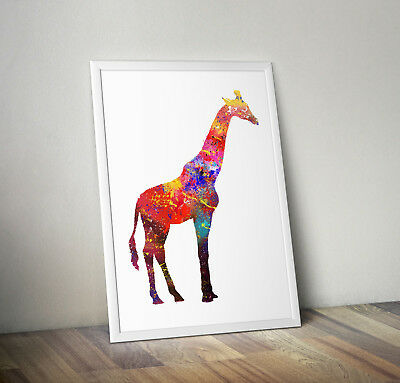 Giraffe, print, poster, prints, posters, quote, wallart, gift, party, bedroom