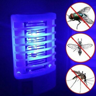 LED Socket Electric Mosquito Fly Bug Insect Trap Night Lamp Killer Zapper AU
