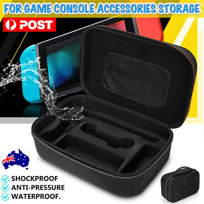 EVA Hard Protective Carry Case Zipper Bag For Nintendo Switch & Accessory AUS