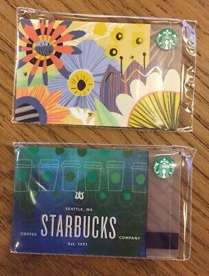 Starbucks Cards Russia spring collection 2018