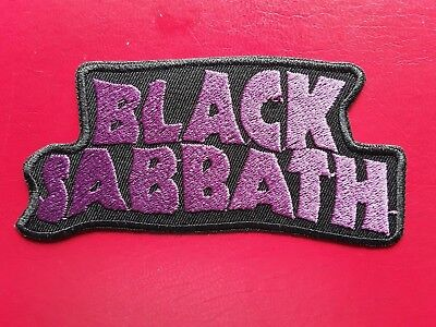 Black Sabbath British Classic Heavy Rock Music Band Embroidered Patch Uk Seller