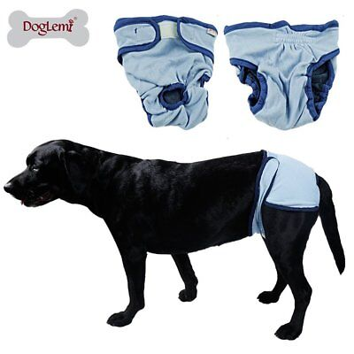 Reuseable Female Pet Dog Physiological Pants Bitch Sanitary Nappy Diaper QX
