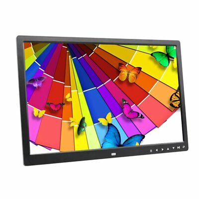 17 Inches Screen HD LED Digital Photo Frame 1440*900 Electronic Picture AlbOX