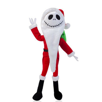 Nightmare Before Christmas- 12inch Santa Jack Skellington Plush Doll Toy Xmas