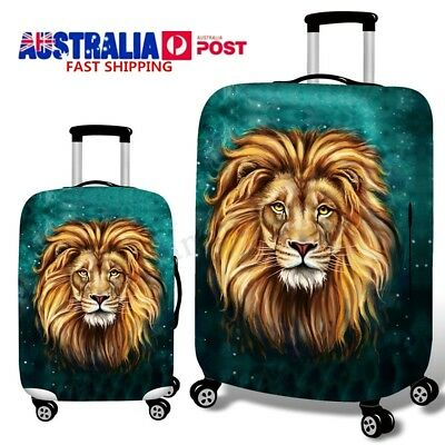 18''-32'' Elastic Travel Luggage Cover Suitcase Spandex Dust-proof Protector AU