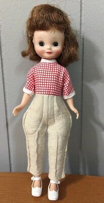 """Sweet Vintage 8"""" Betsy McCall Red Head With Shoes Barrettes"""