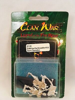 Clan War Legend of the Five Rings Lion Clan Personalities #2 10-406