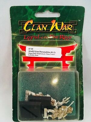 Clan War Legend of the Five Rings Lion Personalities #4 10-413