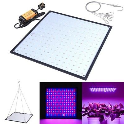 225 SMD LED Grow Light Panel Lamp Hydroponic Indoor Flower Plant Veg Red & Blue