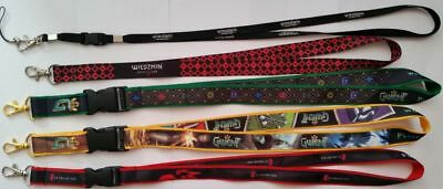 THE WITCHER - collectible LANYARDS from WITCHER game, GWENT game, CD PROJEKT RED