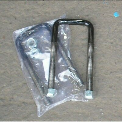 Pair of Square top U bolts with Nuts for TOYOTA HILUX