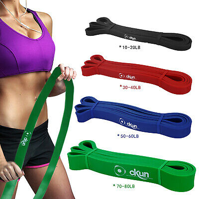 Resistance Bands Assisted Pull Up Band Exercise Workout Bands for CrossFit Heavy
