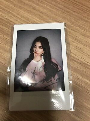 fromis_9 nagyeong autographed authentic polaroid