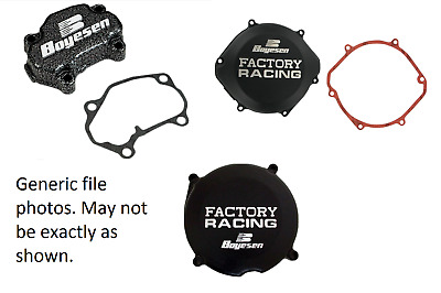 Boyesen Engine Clutch Cover + Ignition Cover + Power Valve Cover for 2001 CR250R