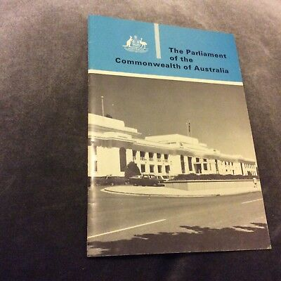 Parliament of the Commonwealth of Australia- 1972