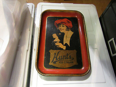 Early Hunt's Ice Cream Serving Tray - Cool - Great Graphics