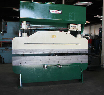 55 Ton x 8' DiAcro Hydra-Mechanical Power Press Brake