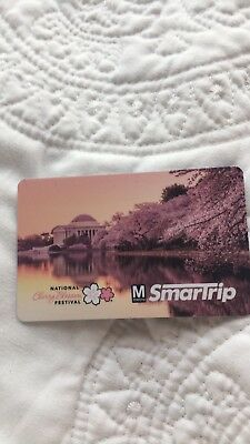 DC Metro Smart Trip Card Limited Edition cherry blossom 2018