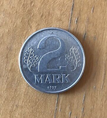 2 DDR Mark Münze | 1977 | A