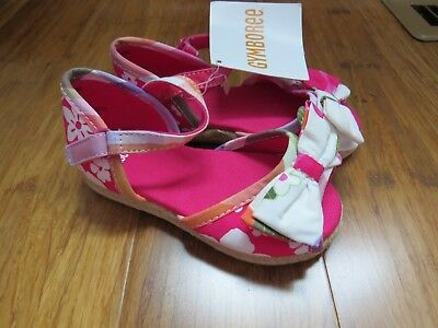 Gymboree baby girl sandals size 6 NWT