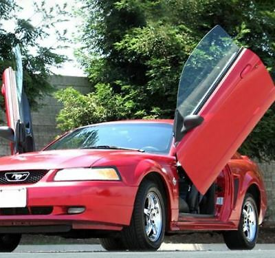 LSD Doors Lambo Style Vertical Front Door Kit for Ford Mustang Coupe 1999-2004
