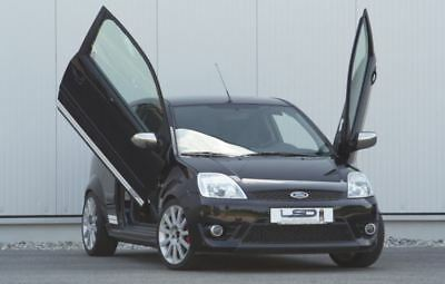LSD Doors Lambo Style Vertical Front Door Kit for Ford Focus 2dr 1998 to 2004