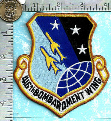 USAF patch - 416th Bombardment Wing - Griffiss AFB, New York