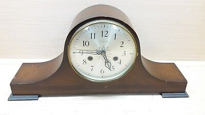 *RARE* Working Vintage Elgin Mantle Chime Clock with key