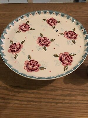 Emma Bridgetwater Rose And Bee Comport Cake Stand