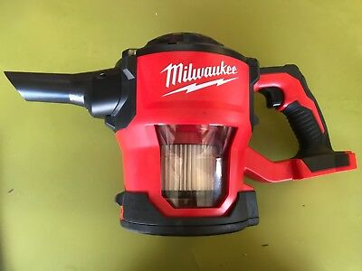 Milwaukee M18 18 0882-20 Cordless Lithium Ion Compact Hand Vacuum Tool Only