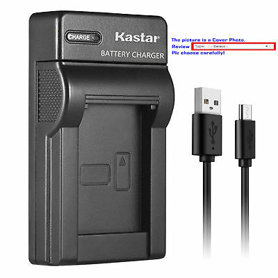 BP-511 Battery or Slim USB Charger for Canon EOS 50D D30 D60, Kiss, Kiss Digital